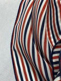 *Limited Edition* The American Striped Silk Large Rag