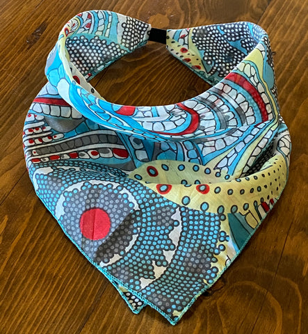 Maybry Silk & Cotton Kerchief