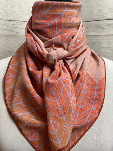 *Special Edition* The Southwestern Sunrise Silk Rag