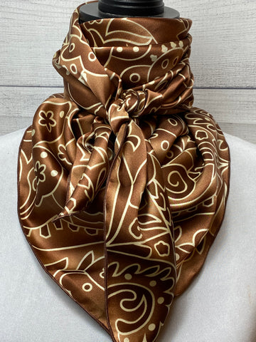 The Bourbon Silk Large Rag