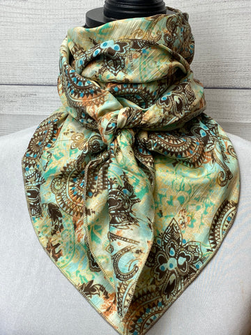 The Myrna Cotton Voile Bandana