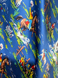 The Blue Buckaroo Silk Large Rag
