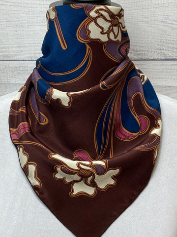 The Arlie Floral Silk Neckerchief