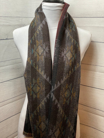 The Shona Wool Blend Straight Scarf
