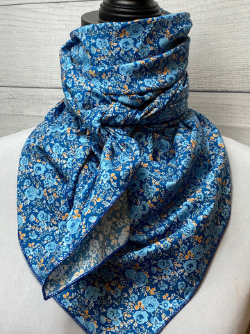 The Blue Rose Cotton Rag