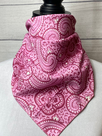 The Sora Floral Cotton Voile Bandana