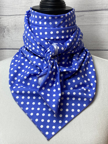 The Indigo Polka Dot Cotton Rag