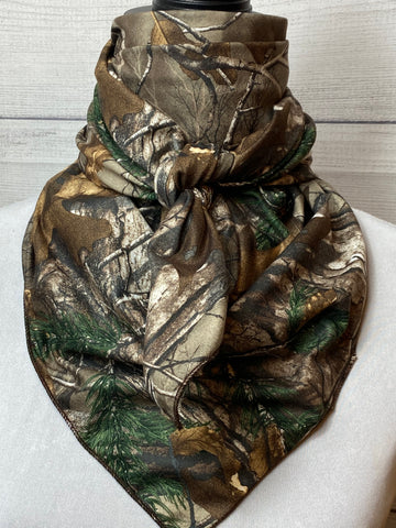 Realtree Xtreme Camo Brushed Cotton Bandana
