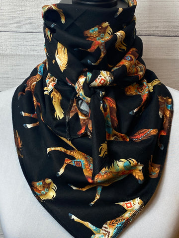 Painted Horse Cotton Bandana