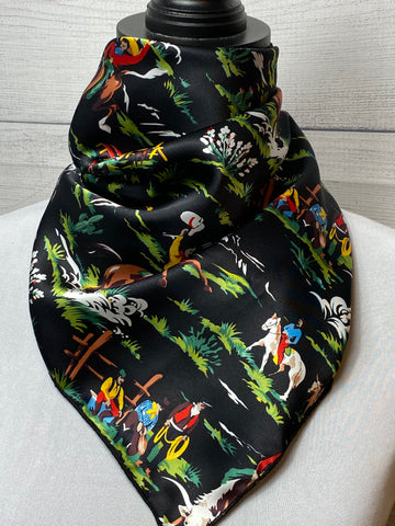 The Buckaroo Silk Neckerchief