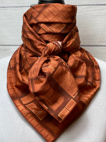 The Russet Cotton Voile Rag