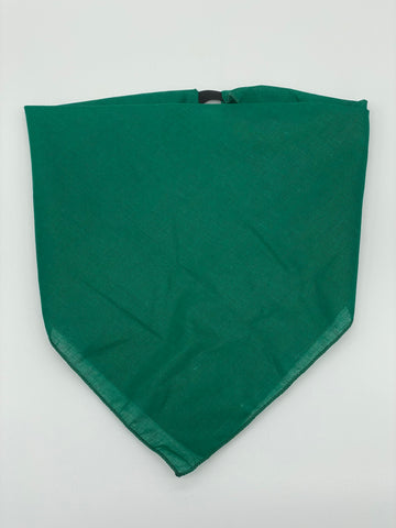 Solid Forest Green Cotton Kerchief