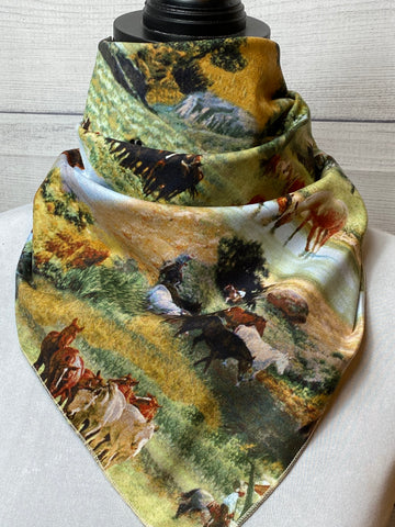 The Horsemen Cotton Neckerchief