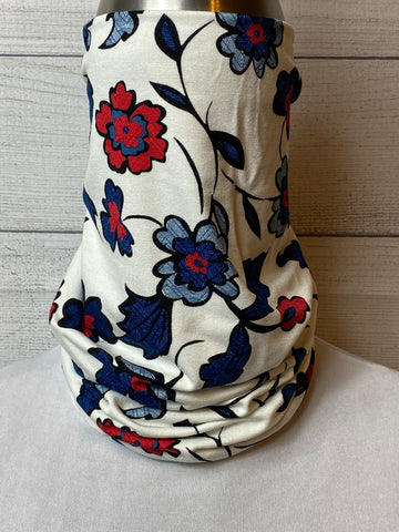 The Camie Floral Cotton Neck Gaiter