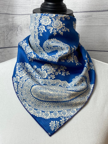 The Meri Paisley Silk Blend Neckerchief