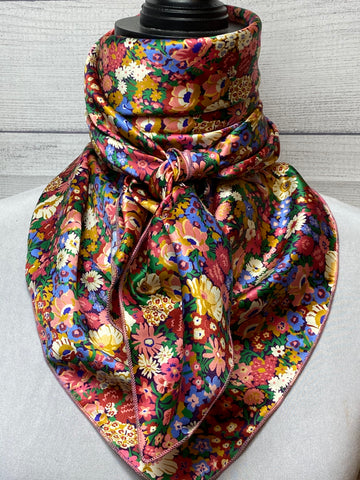 *Special Edition* The Calle Floral Silk Rag