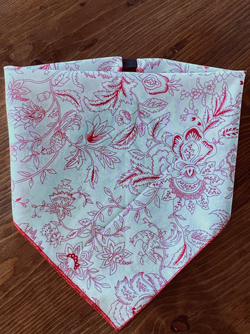 Sketched Floral Cotton Kerchief