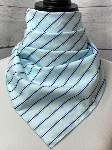 The Argo Striped Cotton Bandana