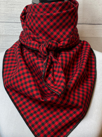 Red Buffalo Check Cotton Rag