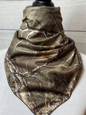 Realtree Xtreme Camo Brushed Cotton Neckerchief