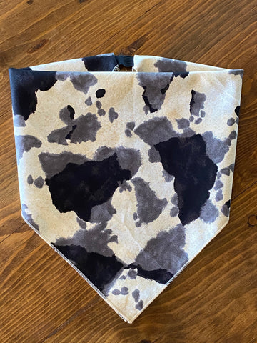 The Cow Print Cotton Kerchief