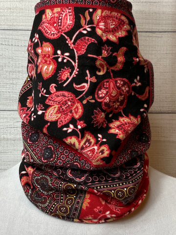 The Bayli Paisley Cotton Neck Gaiter