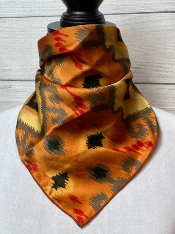 The Paiute Silk Neckerchief