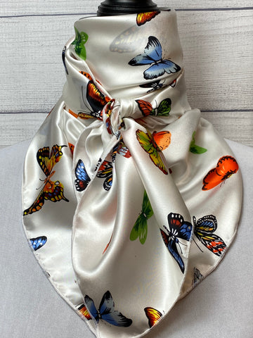 The Mariposa Silk Large Rag