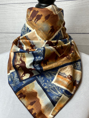Western Range Cotton Neckerchief