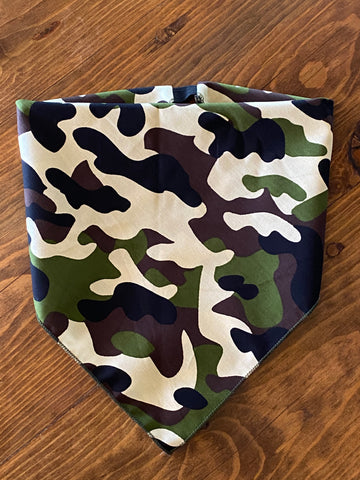The Classic Camo Cotton Kerchief