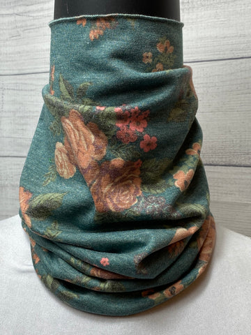The Talia Floral Cotton Neck Gaiter