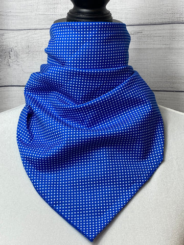 Lapis Mini Polka Dot Cotton Bandana