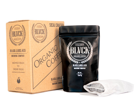 2. BLVCK Organic Cold Brew Coffee Kit + Free BLVCK Box