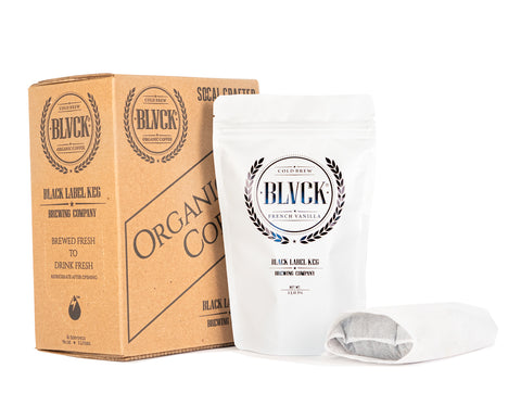 3. BLVCK French Vanilla Cold Brew Coffee Kit + Free BLVCK French Vanilla Box