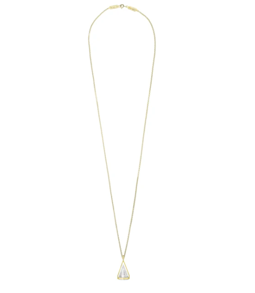 White Aura Necklace #2 Krystle Knight
