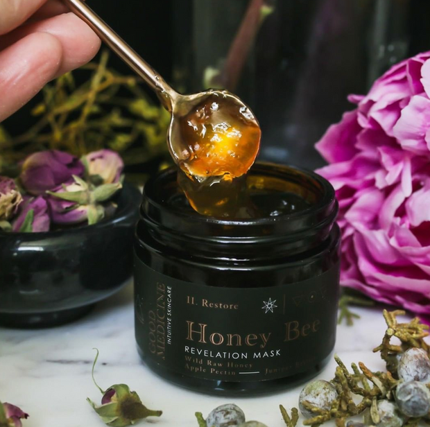 Honey Bee Revelation Mask - Good Medicine Beauty Lab