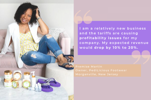 Premise Martin Shares Her Concerns on the China Tariffs