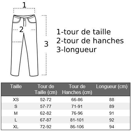 guide des tailles legging chat fitness cat-force