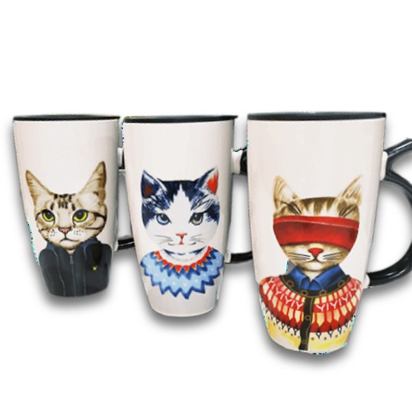 Grand Mug à café Chat - Vraiment-chat