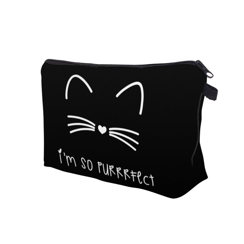 Objet Chat<br/>Trousse de Maquillage Purrfect