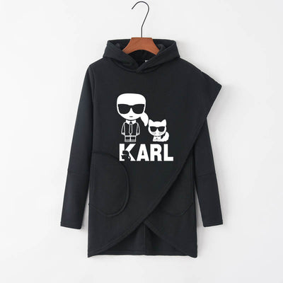 Sweat Chat Karl Lagerfeld | vraiment-chat