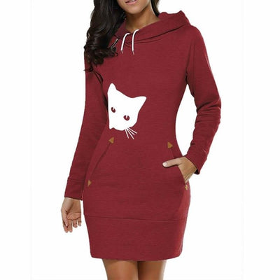 Robe à Capuche Chat | vraiment-chat