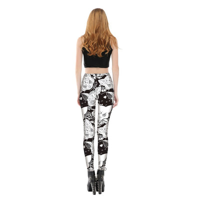Legging Chat Halloween | vraiment-chat