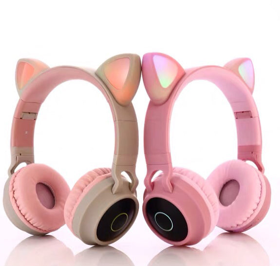 Casque chat bluetooth sans fil