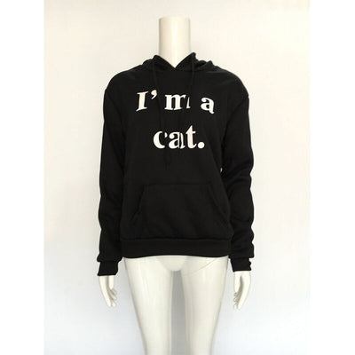 Sweat Chat Fille I'm a Cat | vraiment-chat