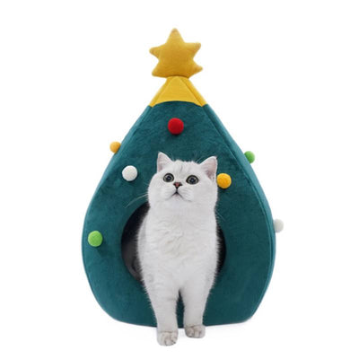 Niche Chat Noël - Vraiment-chat
