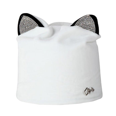 Bonnet Chat Velours