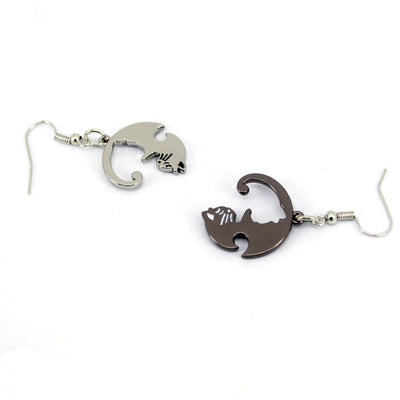 Collier Chat Yin Yang | vraiment-chat