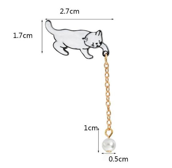 Le Pins Chat Pendule