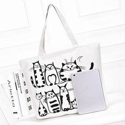 Tote bag Chat <br/>Sachac | vraiment-chat